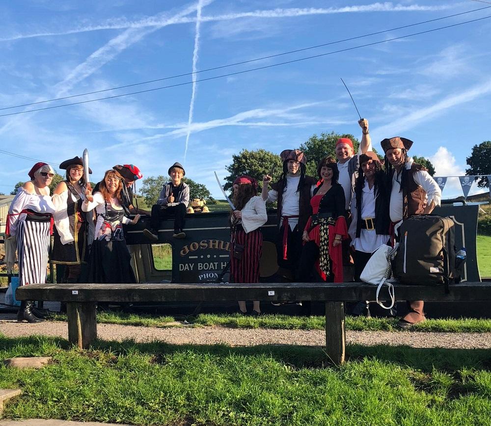Joshua's pirate crew